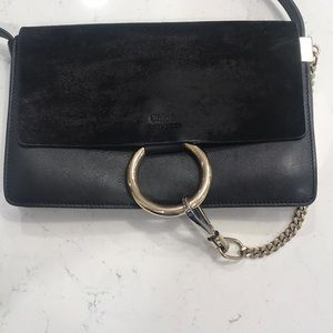 Chloe Faye Leather Crossbody